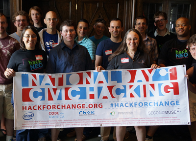 HackNEO National Day of Civic Hacking in Akron, Ohio